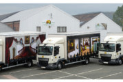 'Amazing' new livery for Pear Stairs lorries