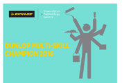 Dunlop launches search for Multi-Skill Champion 2016