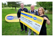 Builders' merchant stacks up cash for charity