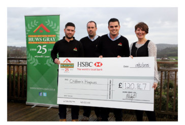 Huws Gray offers helping hand