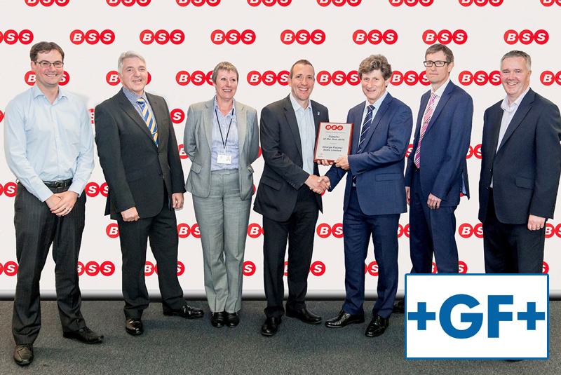 Georg Fischer named as BSS Supplier of the Year 2016