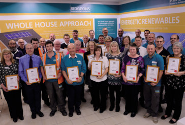 Ridgeons honours long serving staff