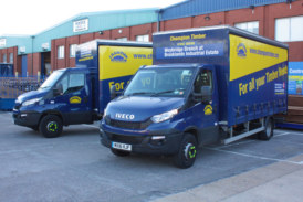 Champion Timber invests in new curtain-sided lorries
