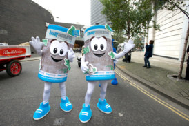 Knauf joins the WCoBM float at the Lord Mayor's Show