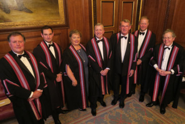 WCoBM welcomes seven new Liverymen at Installation Dinner