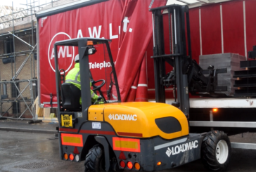 AW Lumb chooses Loadmac for new forklifts