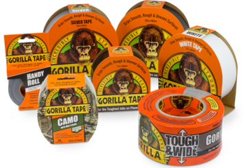 Gorilla Tape launches new advertising campaign