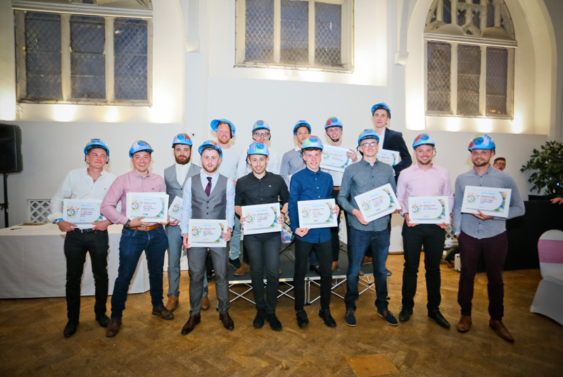 Jewson announces Young Tradesperson of the Year winners