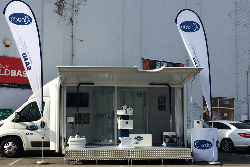 Saniflo roadshow showcases new products