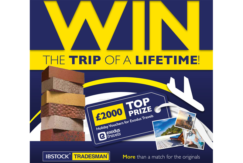 Chance to win £500 voucher with Ibstock