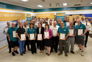 Ridgeons employees celebrate over 800 years of service