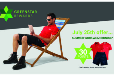 Summer workwear promotion from Worcester