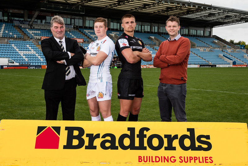 Bradfords to sponsor the Exeter Chiefs