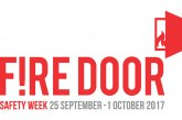 Supporters get fired up for fire door safety campaign
