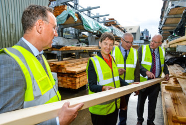 Howarth Timber welcomes local MP