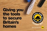 National Home Security Month (NHSM) returns