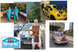 Pavestone Rally revs up record-breaking charity total