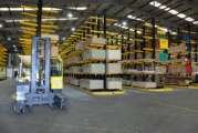 Arnold Laver opens new depot