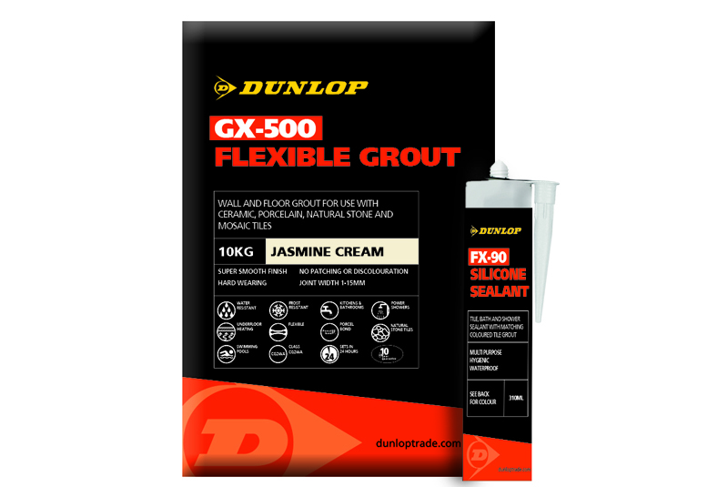 Dunlop releases video for new grout range