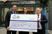 HPS presents big cheque to Great Ormond Street