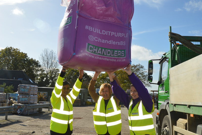 Chandlers launches #BuildItPurple charity initiative