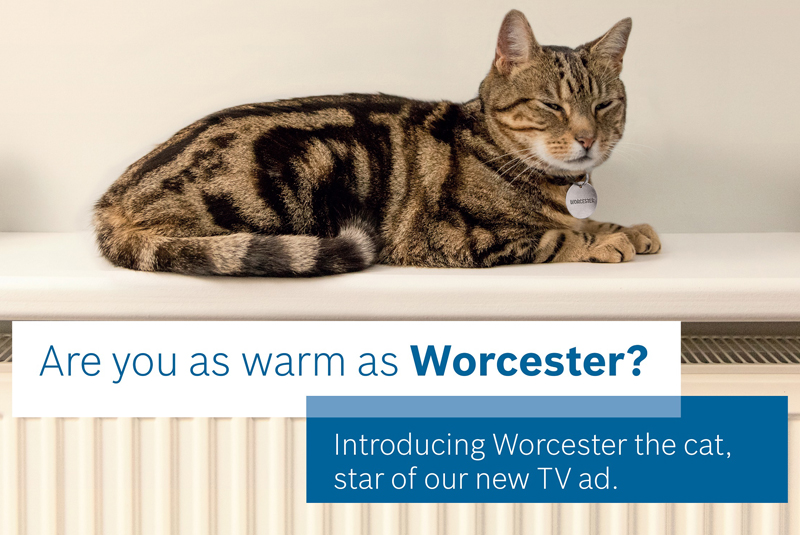 Worcester Bosch launches TV campaign