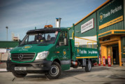 Travis Perkins celebrates Mercedes milestone