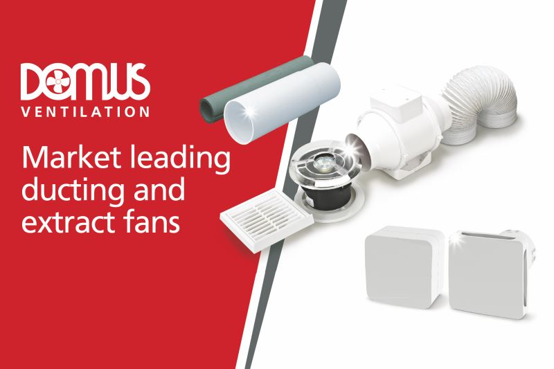 Merchant support from expanded Domus Ventilation team