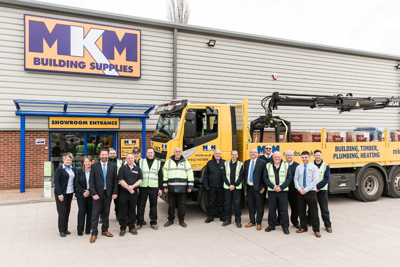 MKM opens new branch in Telford