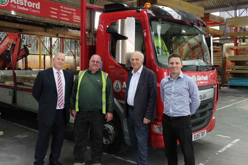 Twickenham MP visits Alsford Timber