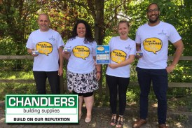 Chandlers promotes Helpline to support Mental Health Awareness Week
