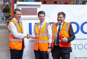 Ibstock new factory opened by Secretary of State