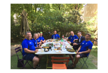 Saniflo completes London to Paris charity cycle