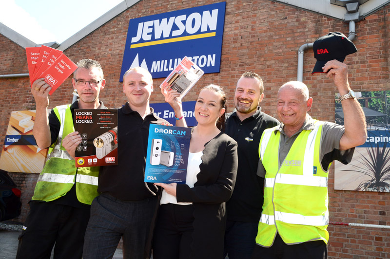 ERA and Jewson join forces