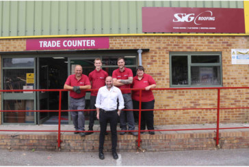 SIG Roofing opens refurbished branch