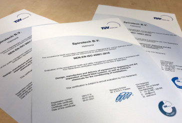 Spirotech achieves trio of ISO standards