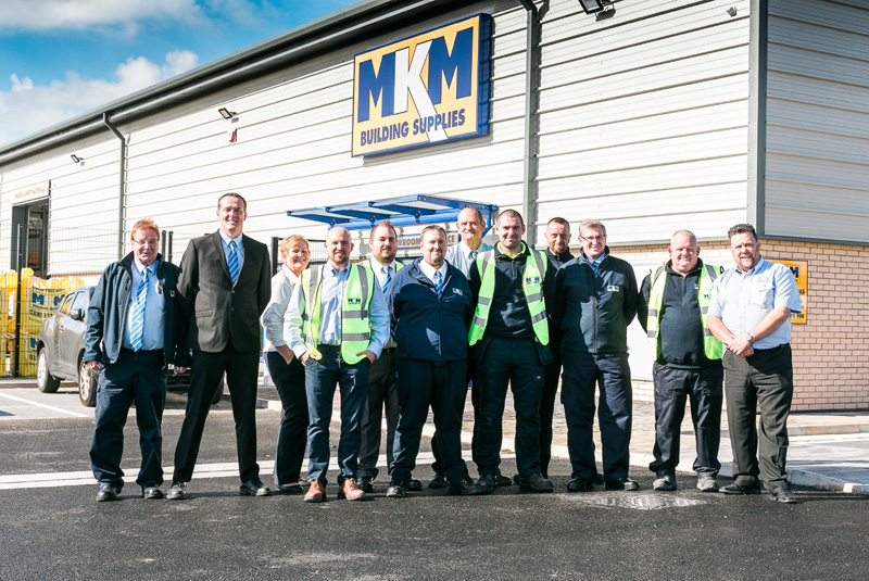 The team at the new MKM branch in Blackpool