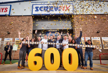 Screwfix opens 600th store