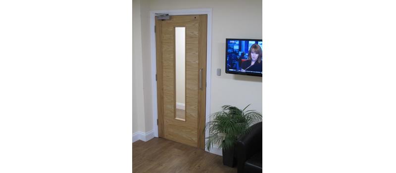 MP Moran commissions JB Kind doors in Head Office development