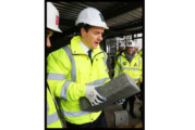 Travis Perkins receives visit from George Osborne
