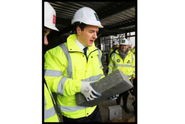 Travis Perkins receives visit from George Osborne