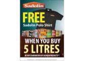 Sadolin's sales promotion celebrates ten 'Golden' years