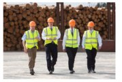 PM visits BSW Timber's sawmill in Newbridge-on-Wye