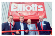 Harry Redknapp opens Elliotts' 13th branch in the South