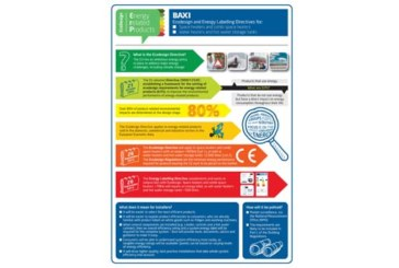 Baxi hits the road to explain ErP Directive