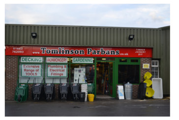 Border Merchant welcomes Tomlinson Parbans on board