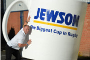 Jewson unveils the biggest cup in rugby!