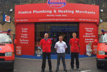 Seven day opening for Pimlico Plumbing & Heating Merchants
