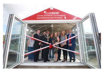 New kitchen and bathroom showroom opened at Plumbase Colne