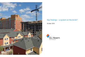GL Hearn and BPF Annual Planning Survey suggests system is 'on the brink'